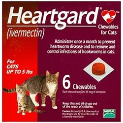 Heartgard Ivermectin For Cats I Feline Heartworm