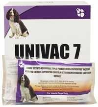 Univac 7 Canine Da2lpp Single Dose Vaccine Medi Vet
