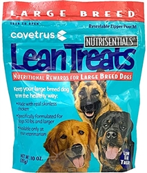 Butler NutriSentials Lean Treats For Large Dogs, 10 oz., 8 Pack