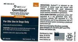 Gentizol Ointment L Topical Antibiotic For Pets Medi Vet